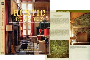 Chad Sanborn featured in book 'Rustic Revisited'